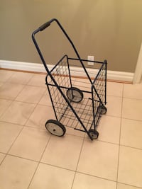 """Pop n Shop Utility Cart Folding Shopping Cart   Dimensions:  17""""L X 15""""W X 24""""H  In Excellent Condition   Offered for only $25  Toronto, M5P 2V5"""