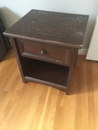Brown Ikea end table Rockville, 20852