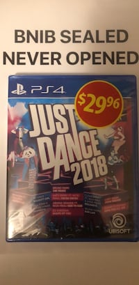 Ps4 just dance 2018 game Brampton, L7A 2Z3
