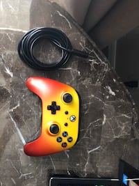 Third party Xbox one controller works great don't need it anymore any questions feel free to send them  924 mi