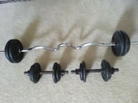 82lb weight set Olney, 20832