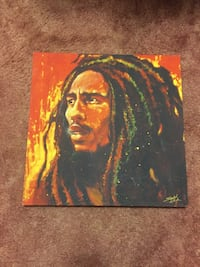 Bob Marley picture/ portrait painting.