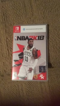 NBA 2K18 Xbox One game case Woodbridge, 22193