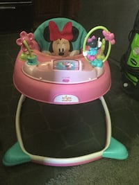 Minnie Mouse Bright Starts Baby Walker Norfolk, 23518