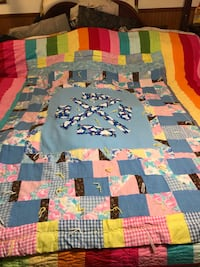 Vintage antique child's quilt hand made Washington, 20024