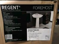 Brand New Regent foremost 2pc Sink with pedestal Mississauga, L4W 4X8