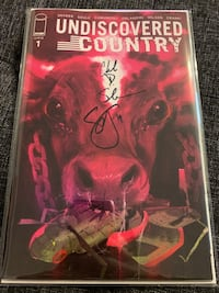 Undiscovered Country #1 Signed Alexandria, 22315