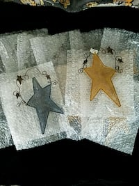 Decorative wire stars lot Leicester, 01611
