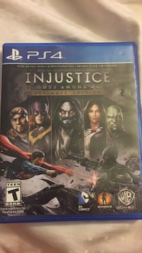 Injustice gods among us ps4 game