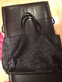 black leather 2-way bag Laval, H7P 5N2