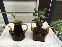 Vintage Brown Glass, Bamboo and Jade/$5.00 Each Or Both for $8.00 Hamilton, L8H 2T4