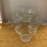 Set of four punch glasses Clarksville, 37042