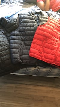 two black and red bubble vests Lexington, 40504