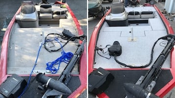 Boat carpet replacement