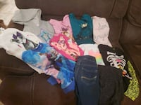 Lot warm girl clothes size 6, 7/8 Jacksonville, 32244