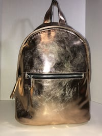 NWT French Connection RoseGold Backpack  Milton, L9T 4K1