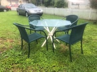 Outdoor set table plus 4 chairs Naples, 34105