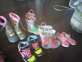 Girls shoes n boots Sizes 8,9s,10s,11s,12s,13s,1,2