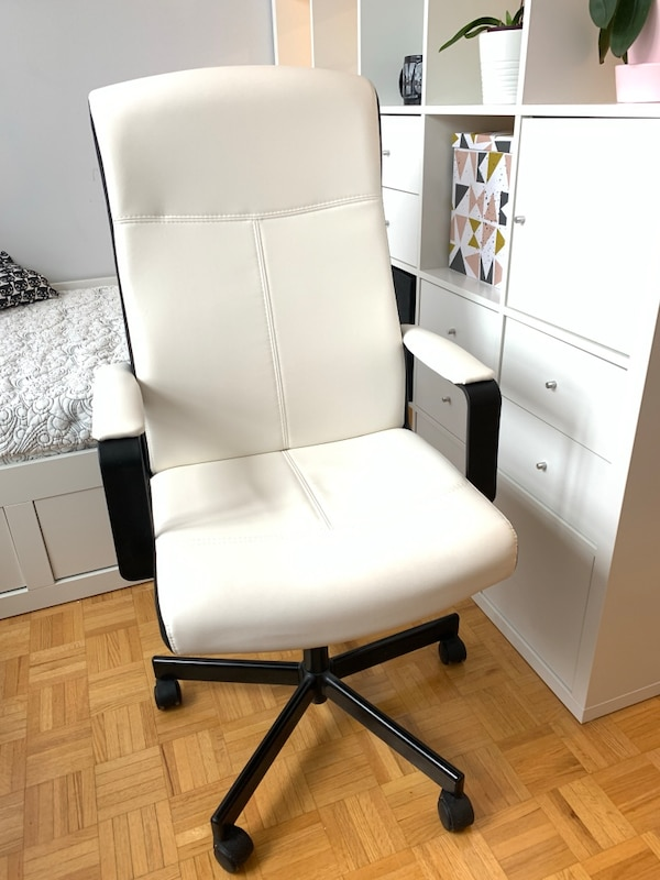 White Office Chair - Ikea Millberget