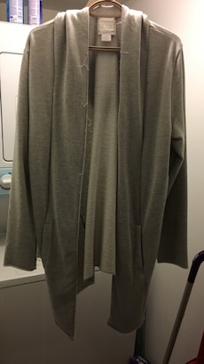 Men's gray cardigan from urban planet worn once
