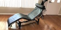 Black leather chaise lounge chair Houston, 77004