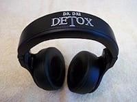black Dr. Dre Detox wireless headphones