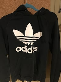 black and white Adidas pullover hoodie Surrey, V3Z 0A9
