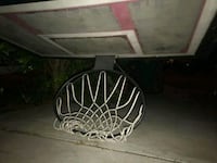 black and white basketball hoop San Bernardino