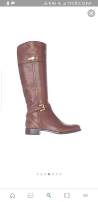 COACH LEATHER BOOTS SIZE 8 Springfield