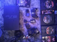 PS2 and 12 games mem card controllers