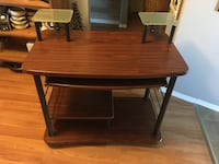 Computer Desk with pull out keyboard tray, price obo