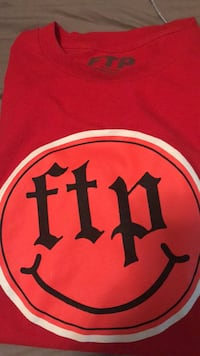 Red and black FTP T-Shirt  Myrtle Beach, 29588