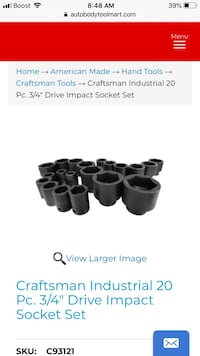 New Craftsman socket set! Lake Bluff, 60044