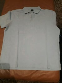 Hugo boss baby blue golf shirt sz lrg Toronto, M9C 4K9