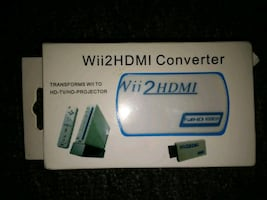 Wii 2 HDMI Converter Brand New still in the box