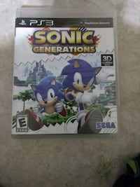Sonic Generations Ps3 Georgetown, 78628