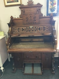 Up cycled Antique Organ made into a Desk  London, N5X 2J1