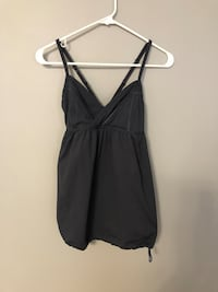 Lululemon gray tank top with removable and it just about straps. Andover, 55304
