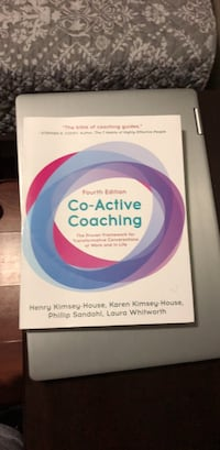 Fourth Edition Co-Active Coaching Book Chicago, 60647