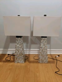 Pair of Decorative Lamps with Shades Vaughan, L4J 7H4