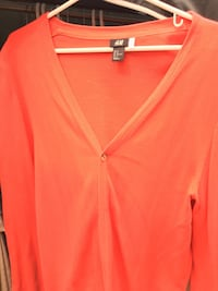 Red Cardigan Size M New Westminster, V3L