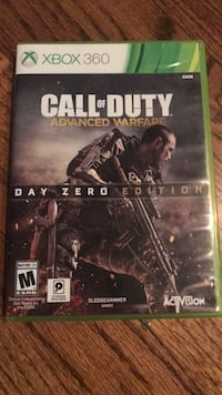 Call of Duty Advanced Warfare Xbox 360 game case Milford, 06460