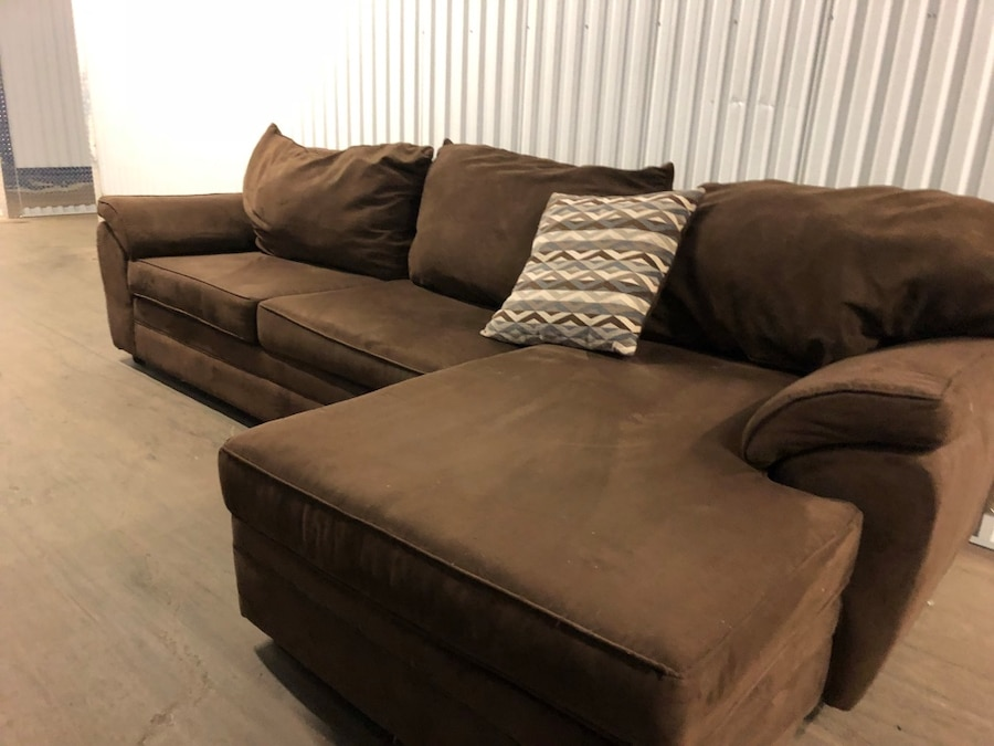 microfiber chocolate brown sectional couch can deliver rh es letgo com sierra chocolate brown microfiber sectional sofa chocolate brown sectional couch