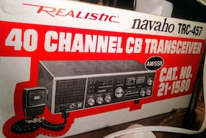 REALISTIC NAVAHO TRC-457 40 CHANNEL CB TRANSCEIVER