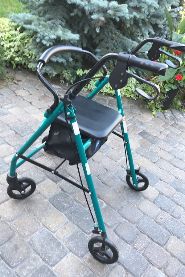 Medical Walker in excellent condition. Comfortable seat and excellent working brakes and overall condition.  0afc7b5b-b5c4-4fc6-bfbd-85f884a24bc6