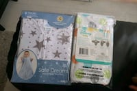 Baby wearable blanket and baby easy swaddle  Toronto, M9P 3V3