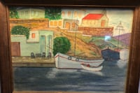Water color famous Greek Painter by Evangelos Manchester, 03103
