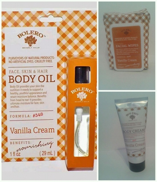 Bolero Body care set