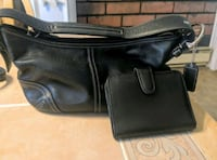 Coach handbag black leather and wallet Londonderry, 03053
