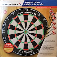Dart board set spot craft(new brnad )never use it Toronto, M2K 0C1